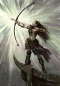 Une archère en plaine chasse !